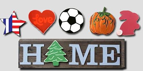 HOME Sign with Interchangeable Holidays Pieces: at Magnanini Winery tickets