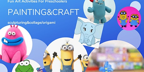Painting, Sculpturing, Origami/Collage Making Activities For Preschoolers tickets