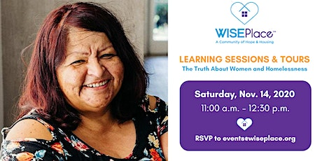 WISEPlace Learning Session and Tour - November tickets