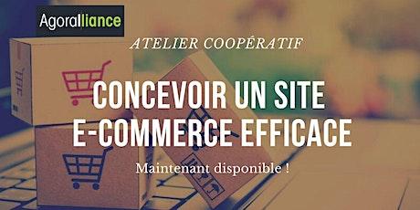 Atelier coopératif : Comment concevoir un site e-commerce efficace billets
