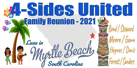 4-Sides United Family Reunion 2021: Bond/Steward & Moore/Gunn - Haynes/Davi tickets