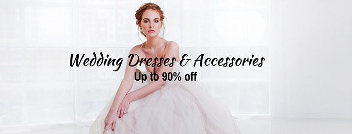 Owen Sound Pop Up Wedding Dress Sale VIP Early Access image
