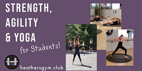 Strength, Agility & Yoga for Students tickets