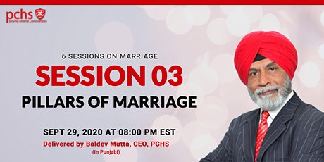 PCHS Education  Sessions on Marriage: SESSION 03 tickets