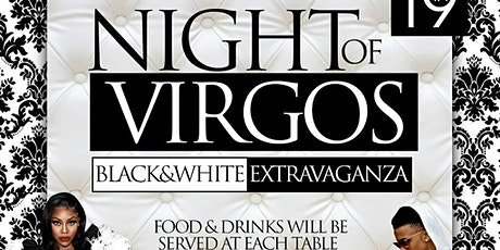NIGHT OF THE VIRGOS (Black White) Tickets