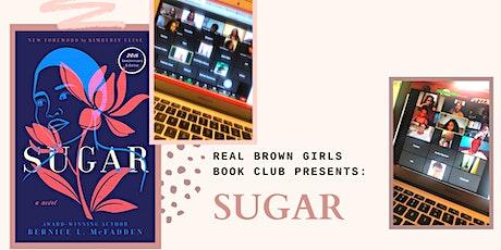 Online Event: Sept Book Club: Sugar by Bernice McFadden tickets