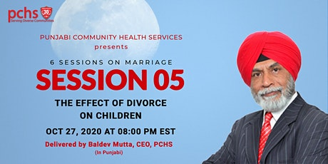 PCHS Education  Sessions on Marriage: SESSION 05 tickets