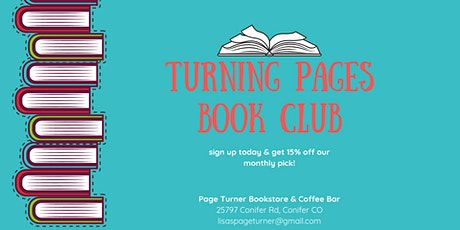 Turning Pages Book Club - October tickets