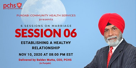 PCHS Education  Sessions on Marriage: SESSION 06 tickets