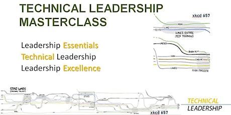 Technical Leadership Masterclass, December 1 and December 8, 9am-12pm ET tickets