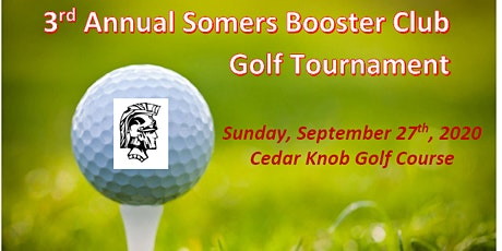 3rd Annual Somers Booster Club Golf Tournament tickets
