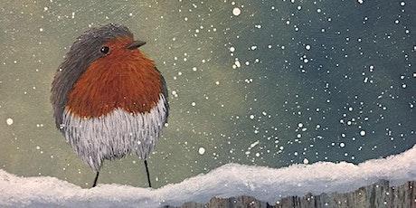 "Homelearners' Art Class ""Winter Robin"" tickets"