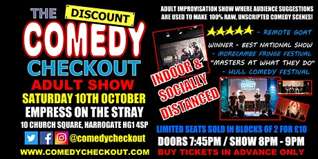 Adult Comedy Show at the Empress Harrogate - 8pm - 9pm show tickets
