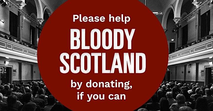 SUNDAY: Bloody Scotland 2020 image