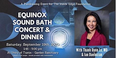 Sound Bath Concert & Dinner   The Inside Edge tickets