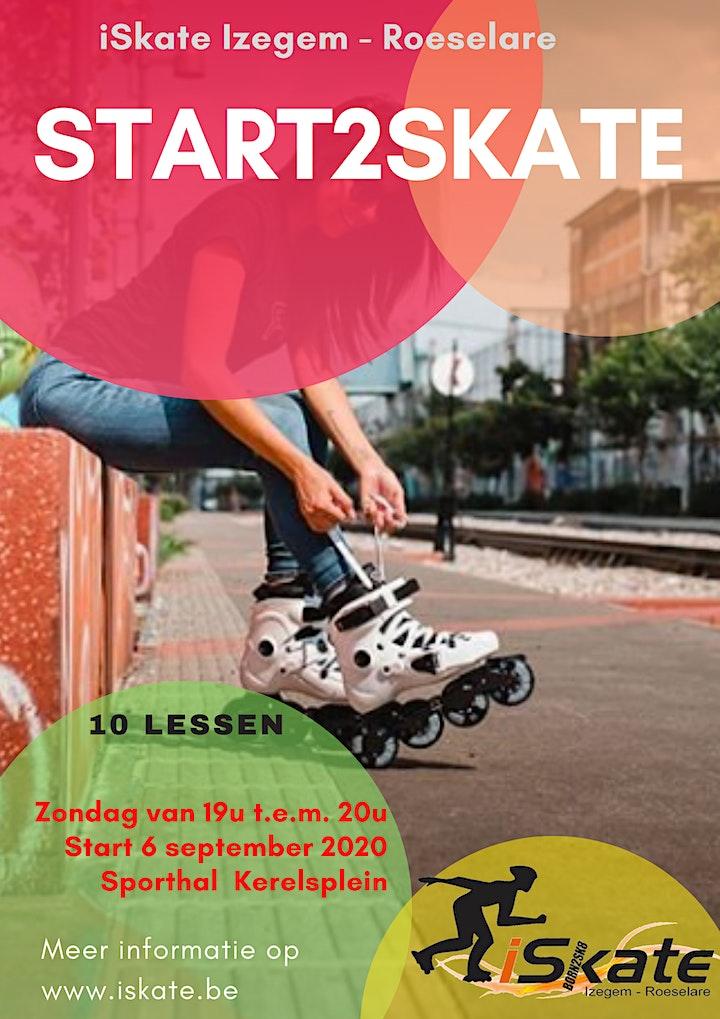 Start2Skate RSL 2020 - op www.iskate.be inschrijven image