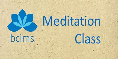 Class: Introduction to Mindfulness Meditation 202oct15clol tickets