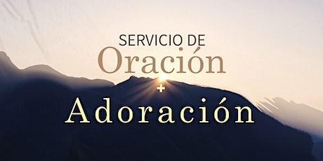 Servicio de Oracion y Adoracion entradas