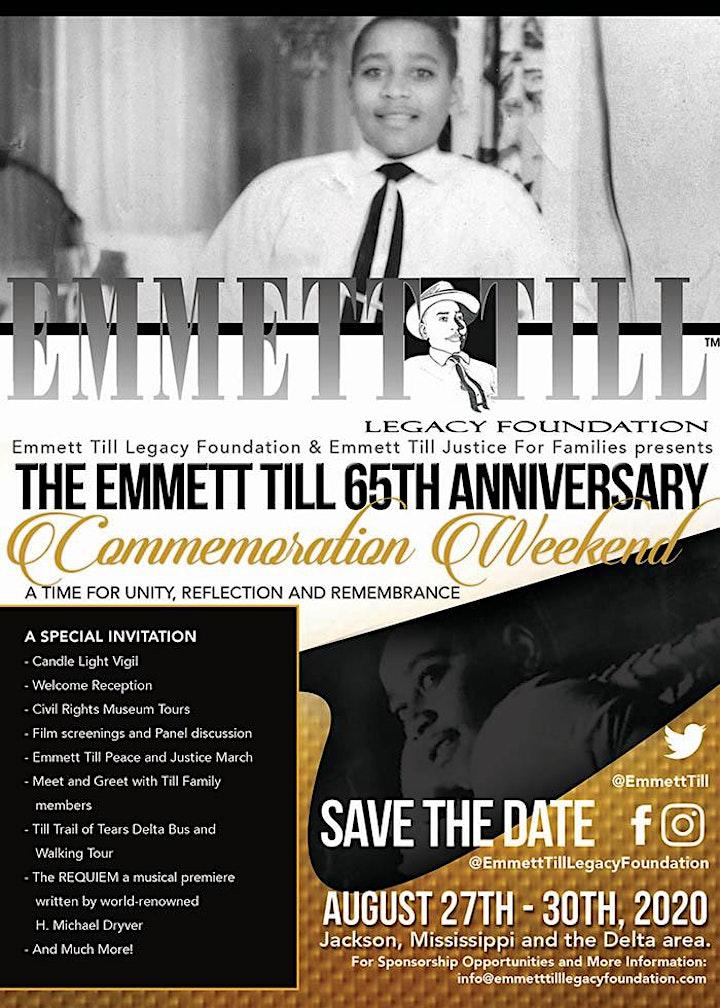 Emmett Till 65th Anniversary Commemoration Weekend 2020 image