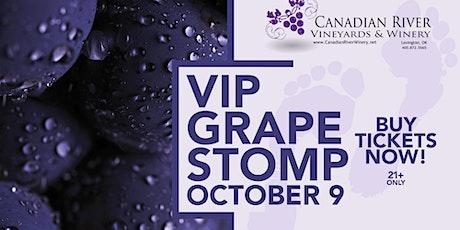VIP Grape Stomp Experience tickets