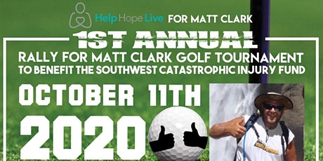 HELP HOPE LIVE  for Matt Clark- The Rally for Matt Clark Golf Tournament tickets