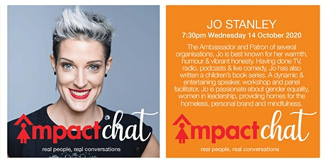 Real people, real conversations - Jo Stanley tickets