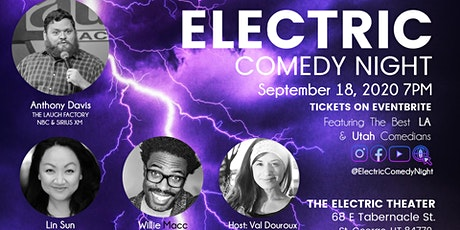 Electric Comedy Night September 18th tickets