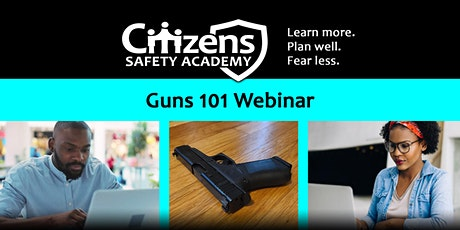 Guns 101 Webinar tickets