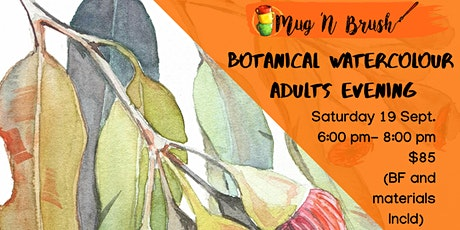Botanical Watercolours Adult Evening tickets