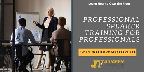Professional Speaker Training for Professionals tickets