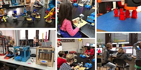 FabLabKids: Kindergeburtstag - Mini-Roboter selber bauen Tickets