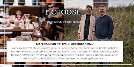 ABGESAGT wegen COVID: Morgen.Salon #31 mit Stefanie & Dietmar Molthagen Tickets