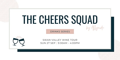 The Cheers Squad - Drinks Series - September 2020 tickets
