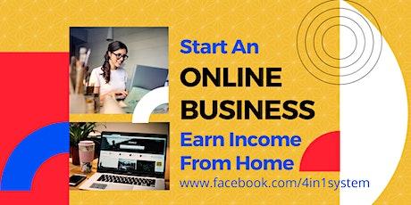 [Online Webinar] Start an Online Business & Earn Income from Home (KL) tickets