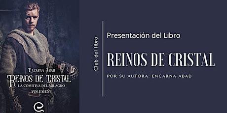 Presentación [ONLINE] del libro: Reinos de Cristal entradas