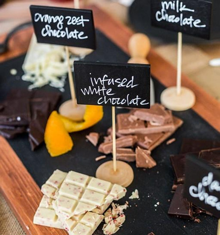 Wine and Chocolate Afternoon Delight image