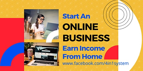 [Online Webinar] Start an Online Business & Earn Income from Home (JB) tickets