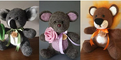 Event Cancelled - Felting Workshop - Make your own bear! tickets