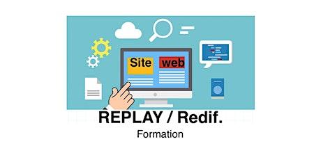 Site web référencement SEO- Formation en ligne (replay) 24h/24h (débutants) billets