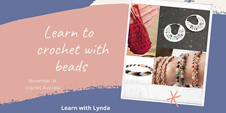 Learn to Crochet with Beads Tuesdays in November tickets
