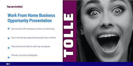 Work From Home - Online Presentation (Germany) Tickets