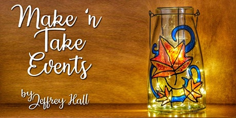 Make 'n Take - Stained Glass Lantern - Fall tickets