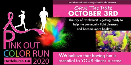 Pink Out Color Run/Walk tickets