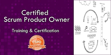 Certified Scrum Product Owner CSPO class  (Nov 2, 2020) tickets