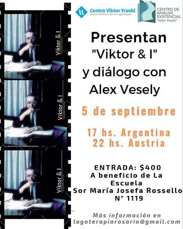 """Imagen de Proyección del documental """"Viktor & yo"""" y diálogo con  Alex Vesely"""