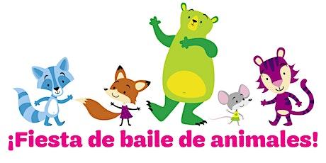 Fiesta De Baile De Animales/Niñas Latinas De K-3 boletos