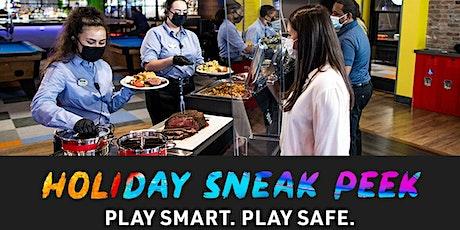 Holiday Sneak Peek - Main Event Entertainment - Alpharetta tickets