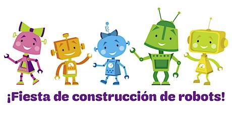 Fiesta De Construcción De Robots/Niñas Latinas De K-3 Grados entradas