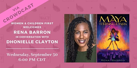 Virtual Book Launch Party: MAYA AND THE RISING DARK by Rena Barron tickets
