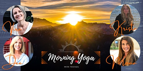 Live Vinyasa Yoga Flow Class hosted by Morning Yoga with Friends tickets
